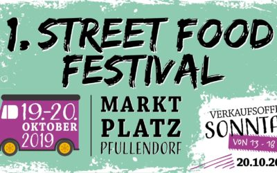 Verkaufsoffener Sonntag & 1. Street Food Festival