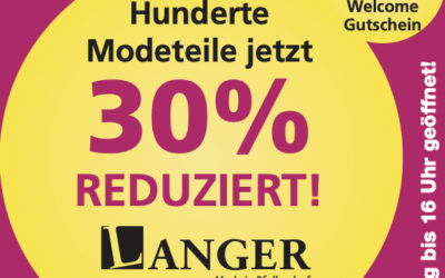 WINTER-SALE bei LANGER