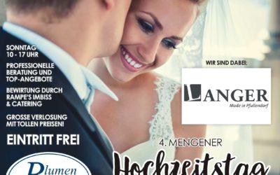 LANGER beim Mengener Hochzeitstag am 26.1.