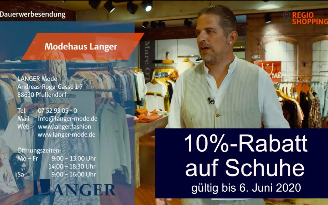 Regio TV bei LANGER & DOWNTOWN