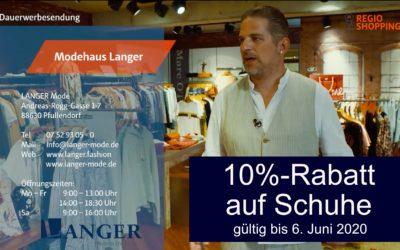 Regio TV bei LANGER & DOWNTOWN